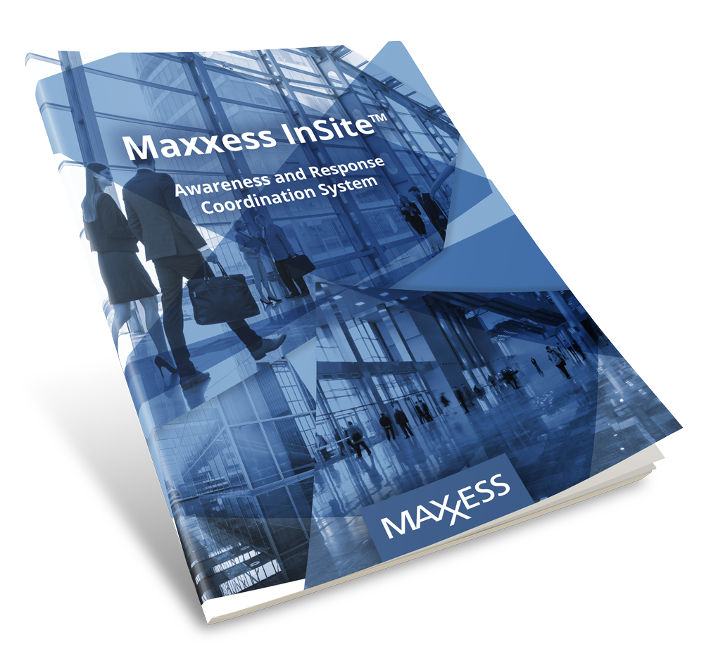 Image of Maxxess InSite Response Coordination System brochure