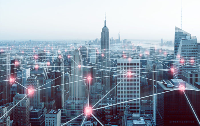 Header image showing city interactions